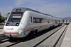 RENFE Media Distancia 599 081-7, Ronda, 2 May 2014.  Three-car DMU introduced from 2009.  49 built, standard class accommodation only.