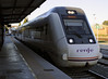 RENFE Media Distancia 599 086-6, 4 May 2014 1.  Arriving at Ronda with train 13063, the 0753 to Granada, reached at 1055.