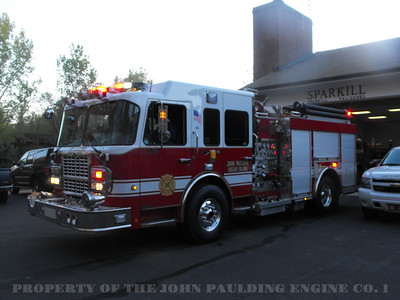 Car Fire Drill 04/2010