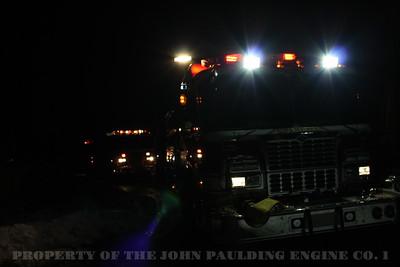 Car Fire, Ludlow Ln, Palisades, NY 12-31-2010