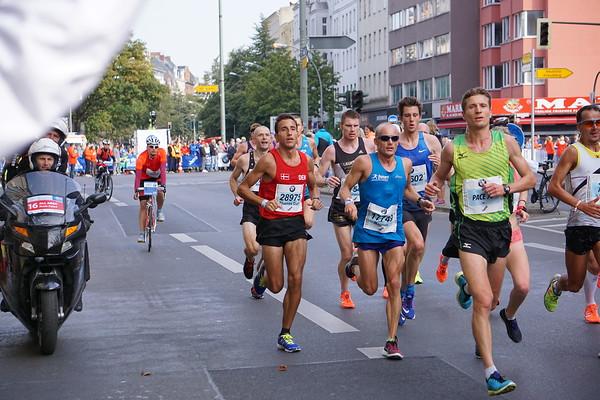 Løbet - mest danskere