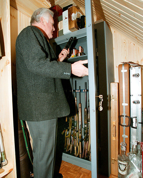 A.M.Brazauskas ir jo šaudyklės.