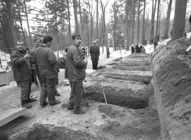 Po sausio 13-osios...Akimirka iš Karių kapinių...