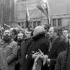 Laisvės paminklo atidengimas 1989m. vasario 16-oji.