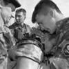 Ties išsekimo riba.Karinės pratybos Latvijoje.
