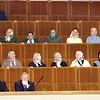 Seimo viešnios - akylos parlamentarų darbo stebėtojos...