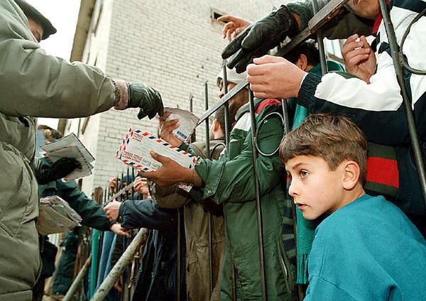 Pabradės pabėgėlių stovykla.
