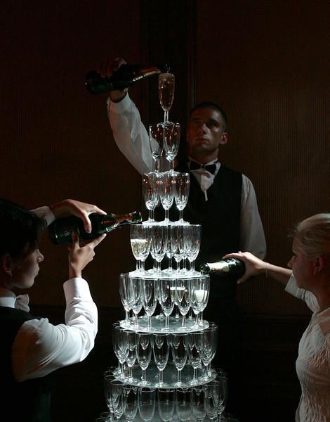 Apie riziką ir jo šampaną...