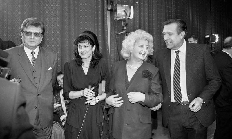(iš kairės) - Juozas Baranauskas, Sigita Stankevičiūtė, Gražina Bigelytė ir Henrikas Paulauskas.
