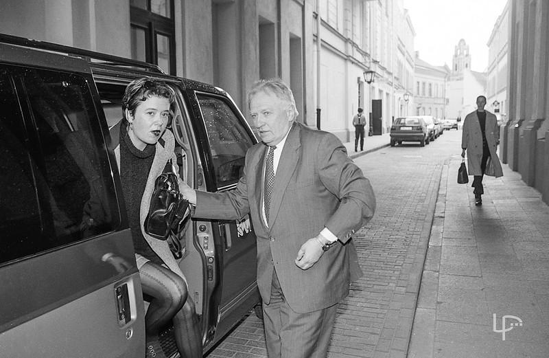 Žurnalistė Lilija Valatkienė ir maestro Saulius Sondeckis...