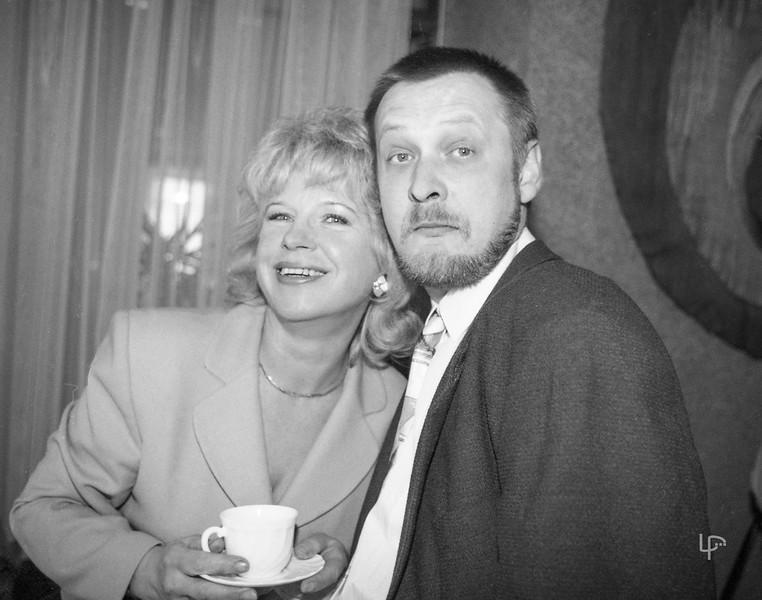 Nijolė Steiblienė ir Darius Lukoševičius...1997m.