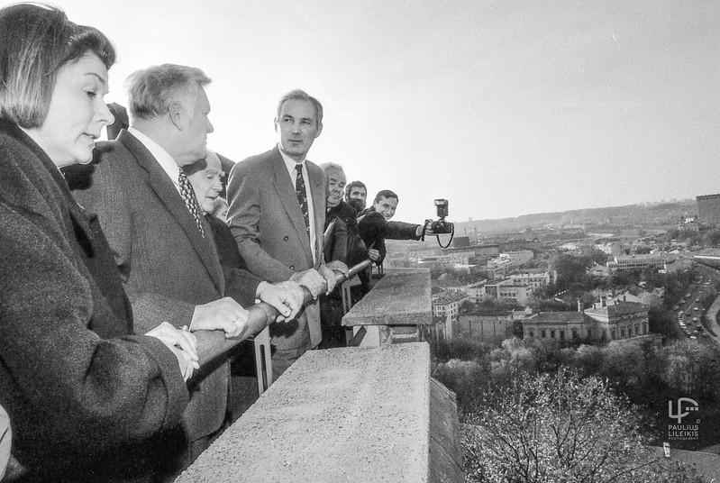 1995-ieji.Gedimino kalno apžiūra po rekonstrukcijos