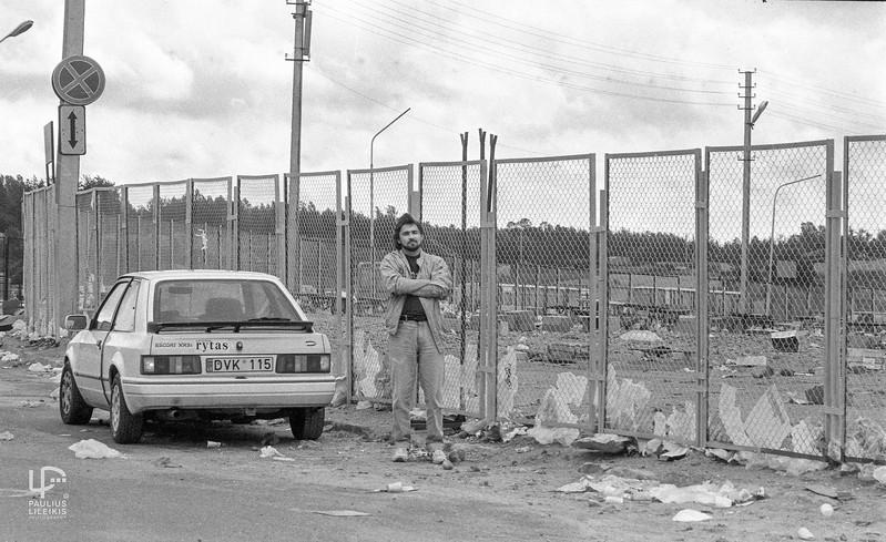Arųnas Karaliųnas Gariūnuose ~ 1994m.