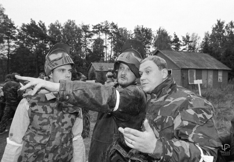 Dažasvydžio asai - Andrius Vaitkevičius, Darius Lukoševičius ir Jaunius Matonis