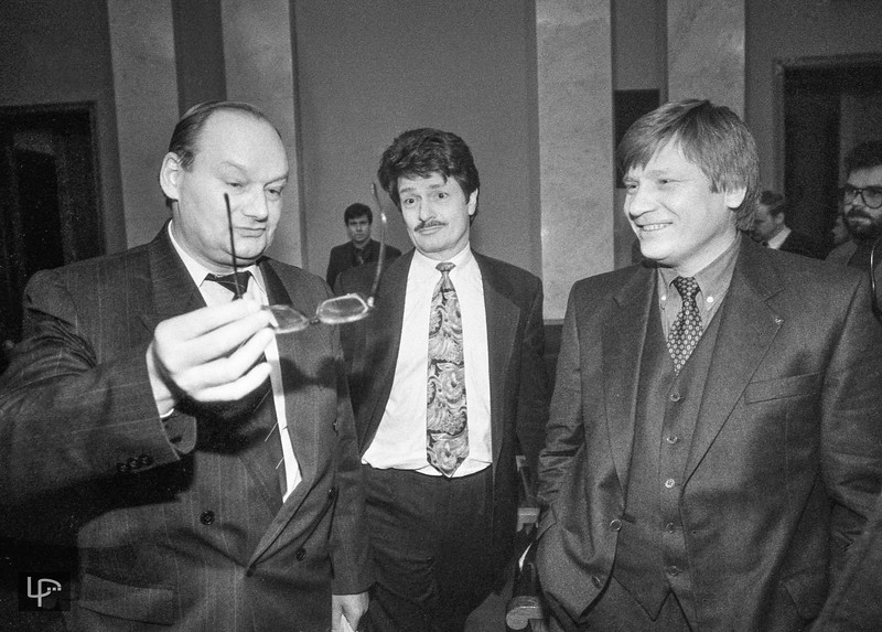 Česlovas Juršėnas,Kęstutis Makaitis ir Vitas Tomkus