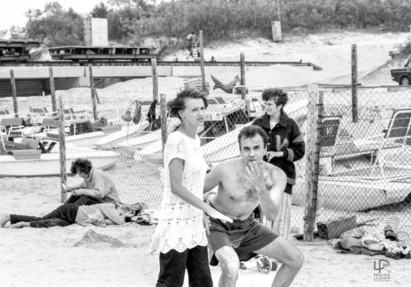 Vaida ir Kęstutis Jauniškiai...Palangoje 1996m.