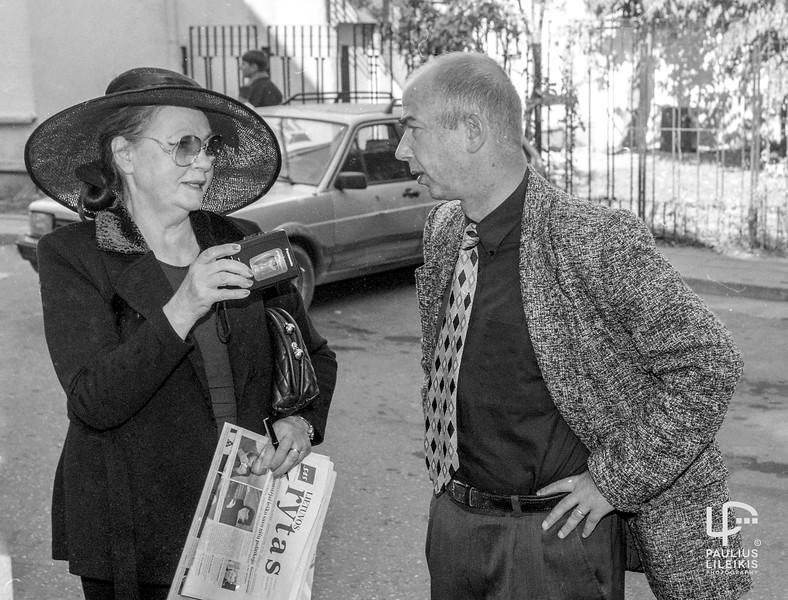 Auksė Aukštikalnienė ir Henrikas Vaitiekūnas