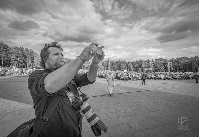 Fotografas Martynas Ambrazas 2018 Dainų šventėje...