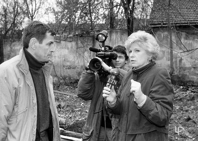 Operatorius Andrius Abromaitis ir tv žurnalistė Nijolė Steiblienė