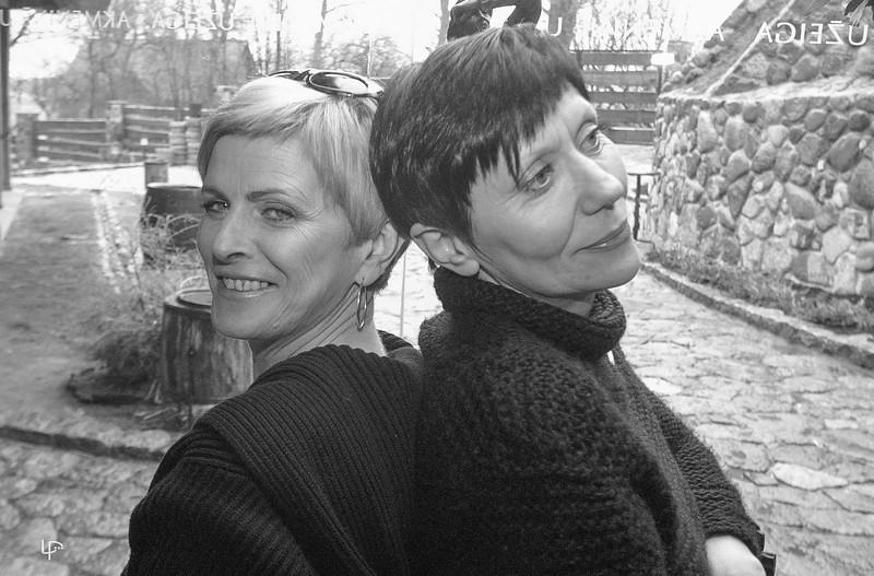 Algimanta Žukauskienė ir Aurelija Malakauskaitė...