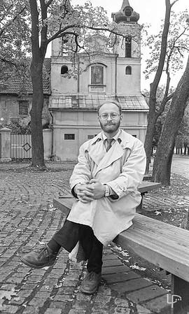 Žurnalistas Rimvydas Valatka...
