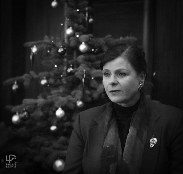 Šventinių nuotaikų apsupty - Julija Šliažienė.