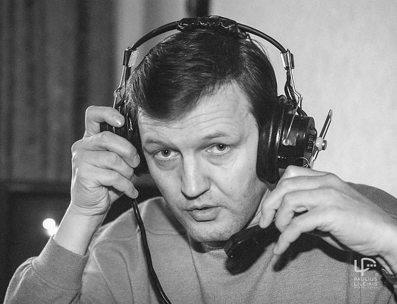 Sporto komentatorius ir žurnalistas Rimvydas Delkus