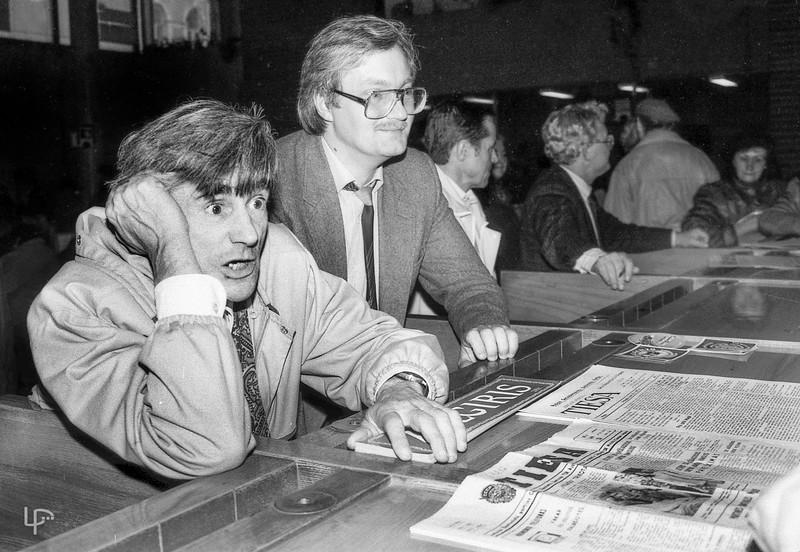 Rimgaudas Eilunavičius ir Vilius Kavaliauskas 1989m.