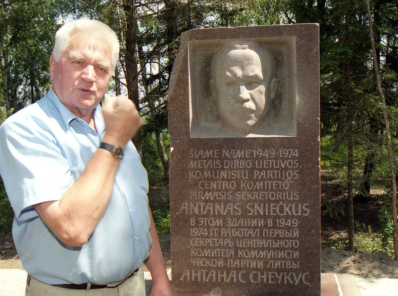 Antanas Terleckas Grūto parke