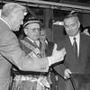 Algirdas Mykolas Brazauskas,Jonas Karčiauskas ir Uzbekijos prezidentas Islamas Karijevas