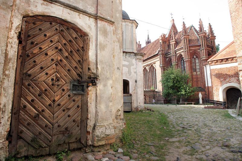 Vilnius.Senamiestis.Bernardinų bažnyčia.