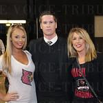 Kayla Reynolds, Kevin and Kathi Lincoln.