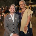 Spalding University President Tori Murden and Sister Margaret Rodericks.