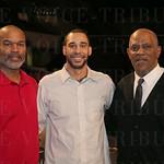 Winston Bennett, Tony Williams and James Lee.