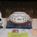 This silent auction package drew a lot of bidding activity.