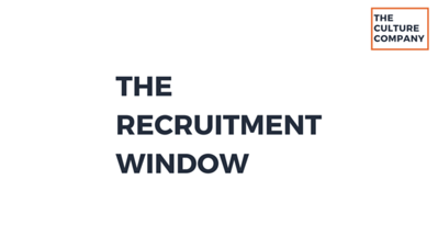 The Recruitment Window