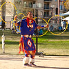 Tony Duncan, 5 time world hoop dancing champion at the 54th annual Heard Museum Indian Fair and Market, March 4, 2012.