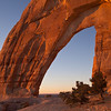 White Mesa Arch, near Kaibeto, at dawn