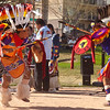 Tony Duncan (right) and Keith Duncan (left) performing the Apache Warrior Dance, March 4, 2012 at the Heard Museum Indian Fair and Market.