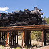 Grand Canyon Railroad steam engine 4960 pulling a special train for National Railroad Day, May 12, 2012