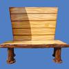 Slab Bench, 6'H #6152