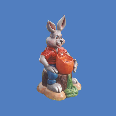 Rabbit Fountain, 4'H #9078