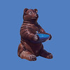 Bear Fountain, 4'H #9071