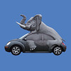 Elephant Car Top #7259