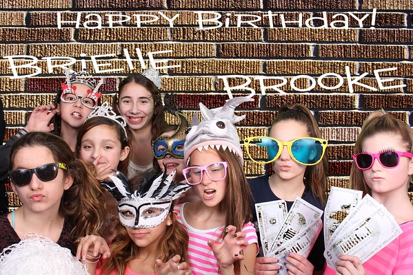 Brielle and Brooke's Birthday Bash