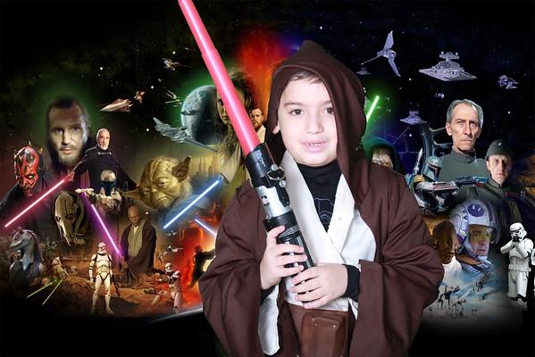 Donny's 6th Star Wars Birthday
