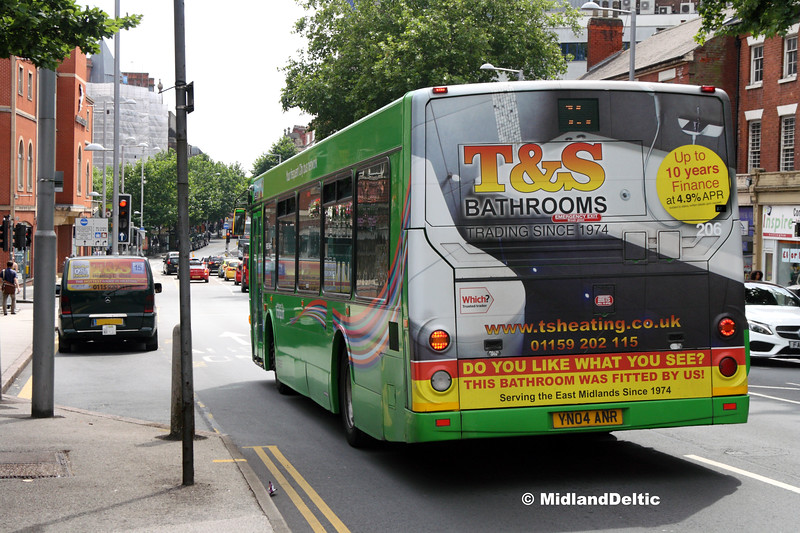 NCT 206, Mansfield Rd Nottingham, 25-07-2017
