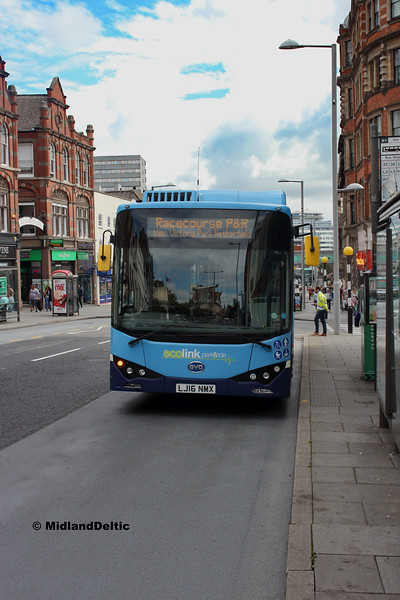 CT4N 982, Upper Parliament St Nottingham, 13-08-2018