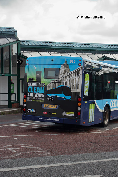 CT4N 985, Victoria Bus Station  Nottingham, 13-08-2018