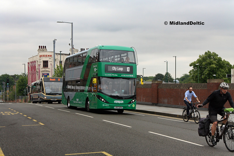 NCT 409, Carrington St Nottingham, 25-07-2017